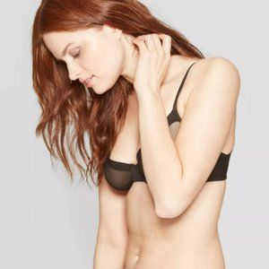 Women's Mesh Unlined Bra – Auden  32A